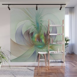 Colorful Shapes, Modern Fractals Art Wall Mural