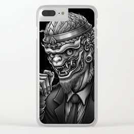 Hanuman (Winya No. 113) Clear iPhone Case