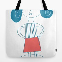 bad girl Tote Bag