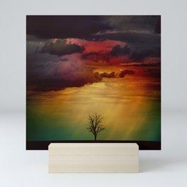 The Nebula Tree Mini Art Print