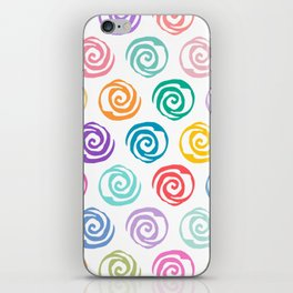 Circles Abstract Seamless Pattern iPhone Skin