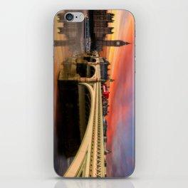London Sunset iPhone Skin