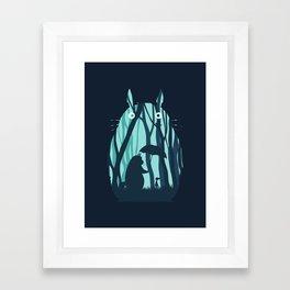 My Neighbor Totoro's Framed Art Print