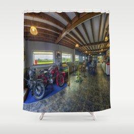 Transport Cafe Shower Curtain