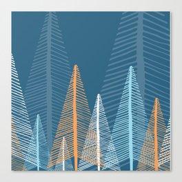 Deep Forest - Dusk Canvas Print