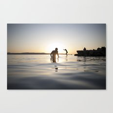 Exit sea Canvas Print