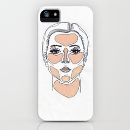 Her Highlight iPhone Case