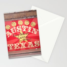 Live Music Capital of the World Stationery Cards