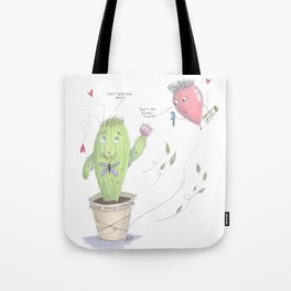 Unconventional Love Tote Bag