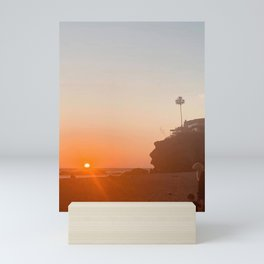 California Beach Mini Art Print