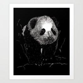 Grin, Bear it Art Print