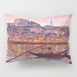 Porto at dusk Pillow Sham