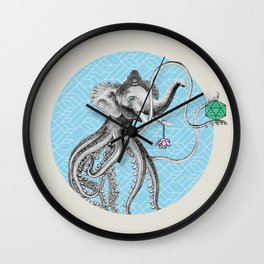Elephantopus Wall Clock
