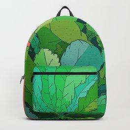 lettuce leaves Backpack