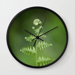 Fern Love Wall Clock