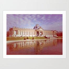 Palais des colonies Art Print