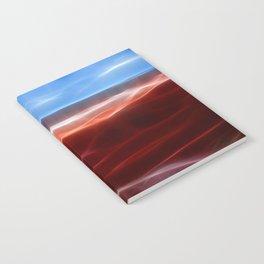 Artistic red Desert Notebook