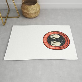 Social Distance Club - We're All Apart Together - Badge Rug
