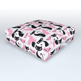 Mod Love Cats Outdoor Floor Cushion