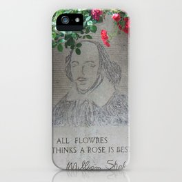 shakespeare iPhone Case