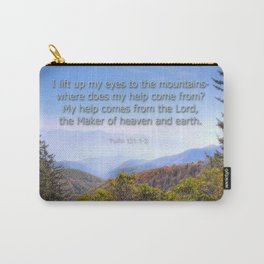 My help comes from the Lord Carry-All Pouch