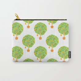 Pear Tree Pattern Carry-All Pouch