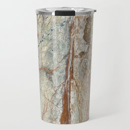Brown onyx home decor marble texture photo print Travel Mug