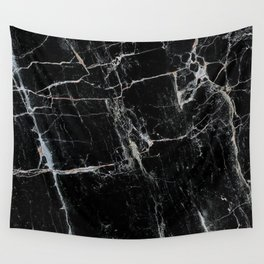 Black Marble Edition 1 Wall Tapestry