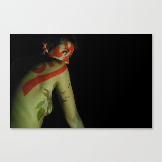 Seeing Red Canvas Print