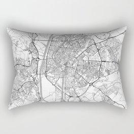 Seville Map Line Rectangular Pillow