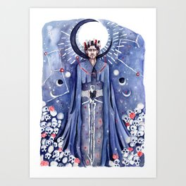 The King's Sacrifice Art Print