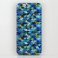 crystal iPhone & iPod Skins featuring Crystal by Marcelo Romero