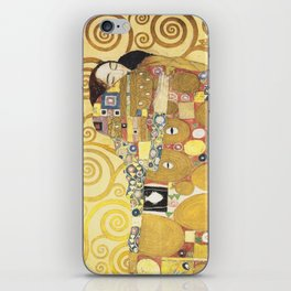 Gustav Klimt - Tree of Life (detail) 1909 iPhone Skin