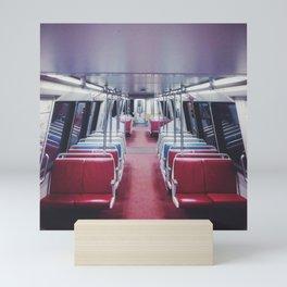 Lonely Metro Mini Art Print
