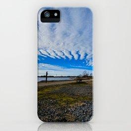Horse island iPhone Case