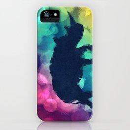 Pop Art Rhinoceros iPhone Case