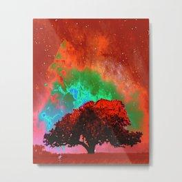 Fire Tree III Metal Print
