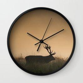 Richmond Park -00, September 2015 Wall Clock