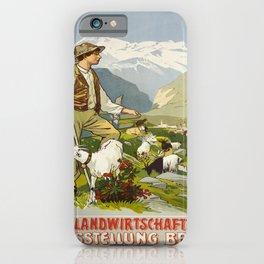 retro plakat brig kant landwirtschaftliche iPhone Case