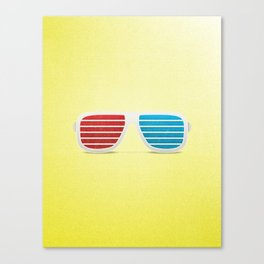3D in Style Canvas Print
