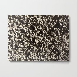 Pebbly Pebble Crunch Metal Print