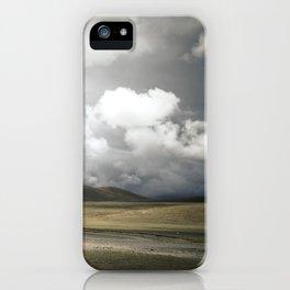 Tibetan Plateau iPhone Case