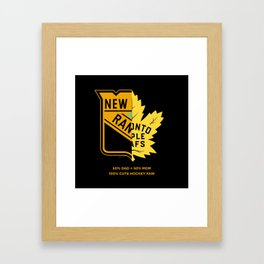 50/50 Framed Art Print