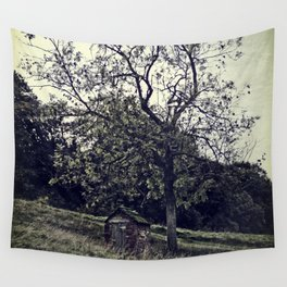 The Lonely Shed Wall Tapestry