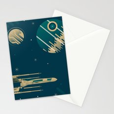 Star Wars Throwback Stationery Cards