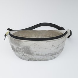 Snowing Forest Fanny Pack