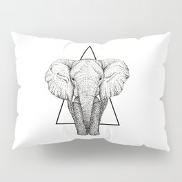 Wisdom Elephant Pillow Sham