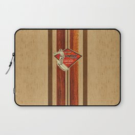 Waimea Hawaiian Surfboard Design Laptop Sleeve