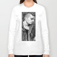 matty healy Long Sleeve T-shirts featuring Matty Healy by rachelmbrady_art