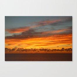 Mozambique Sunrise Canvas Print